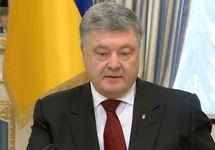Петр Порошенко. Кадр видеообращения