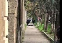 На месте перестрелки в Дербенте. Кадр видео