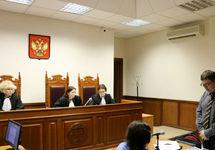 На суде по иску Николаевой. Фото Глеба Эделева
