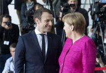 Эмманюэль Макрон и Ангела Меркель. Фото: elysee.fr