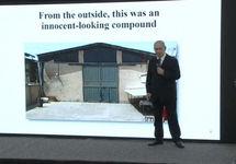 Выступление Беньямина Нетаньяху. Кадр Би-Би-Си