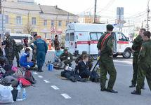 Кадетам оказывают помощь. Фото: n71.ru