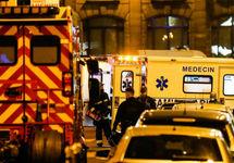 На месте нападения в Париже. Фото: leparisien.fr