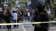 На месте взрыва в Сурабае. Фото ANTARA FOTO