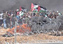 Бои на границе Газы. Фото из твиттера @Tsahal
