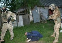 Задержание похитителя. Фото: ssu.gov.ua