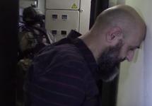 Фигурант дела о подготовке терактов в Москве. Кадр съемки ФСБ