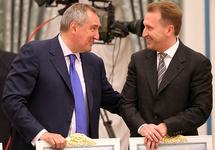 Дмитрий Рогозин и Игорь Шувалов. Источник: zaks.ru