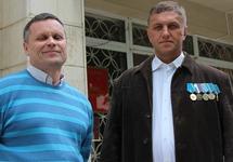Олег Семенов (слева) и Дмитрий Джигалов. Фото: Тарас Ибрагимов, источник: zona.media