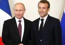 Владимир Путин и Эмманюэль Макрон. Фото: kremlin.ru