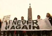 Демонстрация за легализацию абортов в Ирландии. Кадр Би-Би-Си