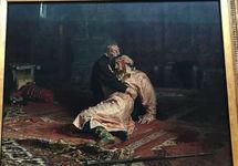 """Картина """"Иван Грозный и сын его Иван"""". Фото из инстаграма @endzhik22"""