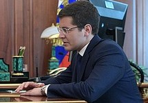 Дмитрий Артюхов на приеме у Владимира Путина, 29.05.2018. Фото: kremlin.ru