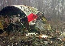 На месте катастрофы под Смоленском. Фото: polskieradio.pl