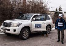 Патруль ОБСЕ на востоке Украины. Фото: osce.org