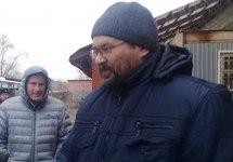 Юрий Екишев после освобождения из СИЗО, 21.11.2017. Фото Елены Рохлиной