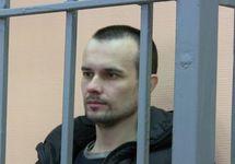 Денис Бахолдин в Суземском суде. Фото: Грани.Ру