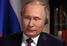 Владимир Путин. Кадр интервью NBC