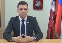 Илья Яшин объявляет об участии в выборах мэра. Кадр видео