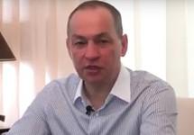 Александр Шестун. Кадр видеообращения