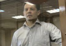 Роман Сущенко на оглашении приговора. Фото: @FeyginMark