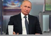 Владимир Путин на прямой линии. Фото: kremlin.ru
