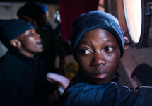 Беженцы из Африки. Фото: sosmediterranee.com