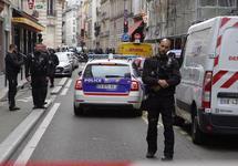 Захват заложников в Париже: полиция у места инцидента. Фото: leparisien.fr