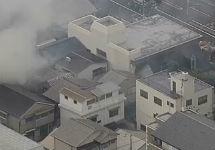 После землетрясения. Кадр NHK