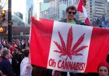Акция за легализацию марихуаны в Канаде. Фото: healthnutnews.com