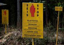 На финско-российской границе. Фото: yle.fi