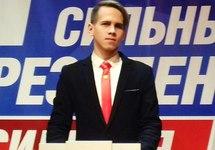 Дмитрий Мякшин на собрании единоросов. Источник: zaks.ru