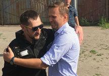 Братья Навальные. Фото Александры Астаховой (instagram.com/aleastakhova)