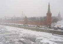 Кремль в тумане. Фото Дмитрия Борко/Грани.Ру
