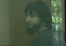 Заур Дадаев в суде. Кадр Первого канала