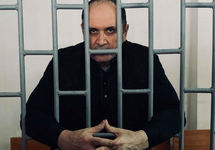 """Оюб Титиев в суде, 04.05.2018. Фото: ФБ-страница """"Grozny: Nine Cities"""""""