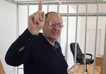 "Оюб Титиев в суде, 31.05.2018. Фото: ""Мемориал"""