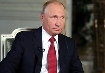 Владимир Путин во время интервью ORF. Фото: kremlin.ru