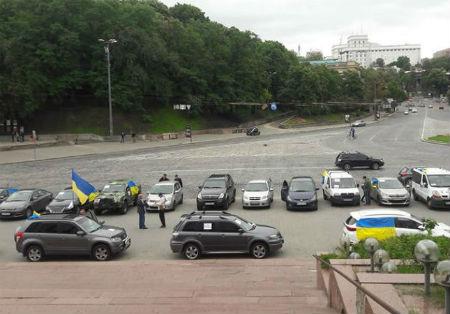 В Киеве проходит акция солидарности с Сенцовым