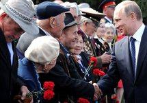 Владимир Путин с ветеранами. Фото: kremlin.ru