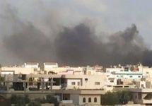 Бомбежка в Деръа. Фото: syriahr.com