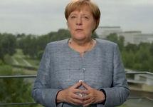 Ангела Меркель. Кадр видео
