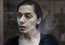 Карина Цуркан в суде. Фото: rbc.ru