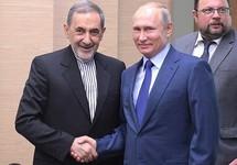 Али Акбар Велаяти и Владимир Путин. Фото: kremlin.ru