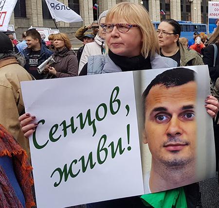Голодовка Сенцова. Третий месяц