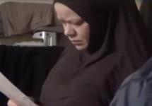 Алла (Джаннат) Беспалова. Кадр съемки ФСБ