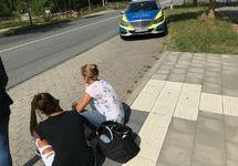 На месте нападения в Германии. Фото: lubek-online.de