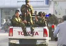 Силовики у аэропорта Кабула. Фото: tolonews.com