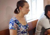 Елена Одновол в суде, 19.06.2018. Фото: krymr.com