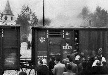Депортация жителей Риги, июнь 1941. Фото: Википедия